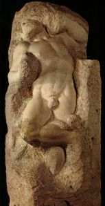 The Awakened Slave by Michelangelo